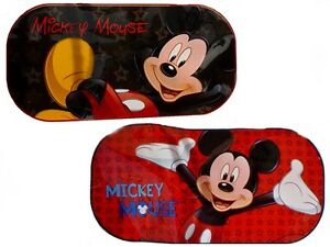 mickey mouse rear windows sun protection disney car in. Black Bedroom Furniture Sets. Home Design Ideas