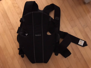 Baby Bjorn Carrier - Black 8-26lbs