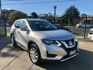 2017 Nissan X-Trail T32 Series II ST X-tronic 2WD Silver 7 Speed Constant Variable Wagon Maidstone Maribyrnong Area Preview