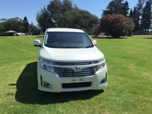 2012 Nissan Elgrand E52 HIGHWAY STAR Pearl White 6 Speed Automatic 5 DOORS 8 SEATS PEOPLE MOVER North Wollongong Wollongong Area Preview