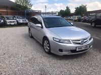 2007 Honda Accord 2.2 i CTDi EX 5dr FULL LEATHER+SUNROOF+SAT/NAV CAT (C) ESTATE