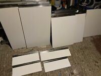 Kitchen cupboard doors and draw fronts for sale