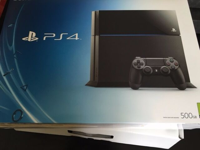 Playstation 4 PS4 Jet Black 500GB Console + Controller Fully Boxed ...