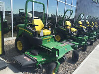 JOHN DEERE CLEARANCE SALE OF ZERO TURNS AND LAWN MOWERS