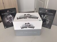 Laurel & Hardy Box set of 21 Dvds b/w plus re-mastered in full colour.