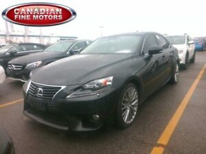 2014 Lexus IS 250 ONE OWNER |LEATHER ROOF|SPORT PKG|
