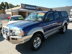 2003 Nissan Navara D22 ST-R (4x4) Blue 5 Speed Manual Dual Cab Pick-up Wangara Wanneroo Area Preview