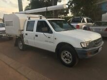 1998 Holden Rodeo TFG6 LX (4x4) White 5 Speed Manual 4x4 Crewcab Margaret River Margaret River Area Preview