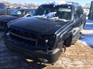 2002 Chevy Avalanche just in for parts at Pic N Save!