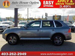 2004 PORSCHE CAYENNE TURBO NAVI LOW KM 2 SETS OF RIMS/TIRES