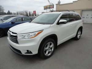 Toyota Highlander Limited 2015 Limited-AWD-Navi-Cuir-ToitPano