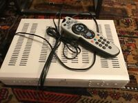 Amstrad DRX280 Sky+ satellite receiver, pre-owned
