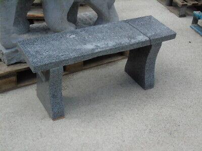 banc rectangulaire de jardin en pierre , granit polit , nouveau et grand choix !