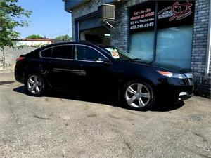 2012 ACURA TL SH-AWD W/TECH PKG ***MANUAL 6 SPEED***