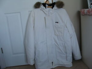 Ladies White Parka
