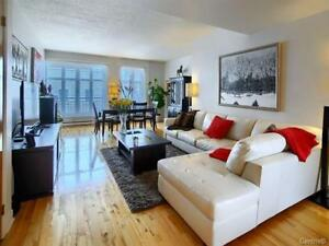 Fully furnished 2 bedroom condo in Old Port!