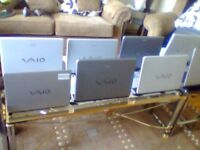 2XSONY VAIO LAPTOPS FOR SPARE OR REPAIR