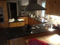 fitted kitchen with granite worktops