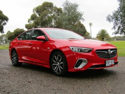 2017 Holden Commodore ZB MY18 RS Liftback Red 9 Speed Sports Automatic Liftback Murray Bridge Murray Bridge Area Preview
