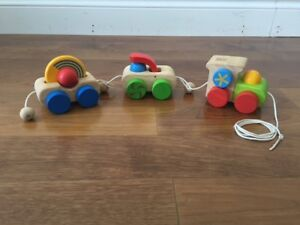 Pull-along Wooden Train (from Plan Toys)