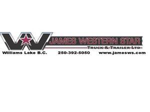 James Western Star - 2016 350SE Square Tridem End Dump