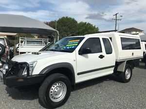 2011 Isuzu D-MAX TF MY10 SX (4x4) White 5 Speed Manual Spacecab Gloucester Gloucester Area Preview