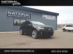 2014 Ford Edge Sport - HEATED LEATHER, MOON ROOF, CLEAN CAR PROO