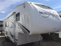 2007 NORTH SHORE 28ft. BUNKHOUSE FIFTH WHEEL