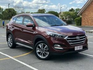 2017 Hyundai Tucson TL MY18 Active X 2WD Maroon 6 Speed Sports Automatic Wagon Chermside Brisbane North East Preview