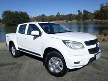 2013 Holden Colorado RG LX (4x4) White 6 Speed Automatic Crewcab Belconnen Belconnen Area Preview