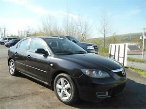 2007 MAZDA 3 , POWER WINDOWS, A/C NEW ROTORS/PADS ALL AROUND