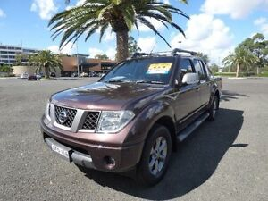 2009 Nissan Navara D40 Titanium Brown 5 Speed Automatic Utility Cabramatta Fairfield Area Preview