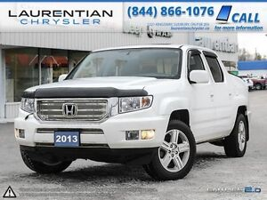2013 Honda Ridgeline Touring-ACCIDENT FREE+LEATHER+SUNROOF+HEATE