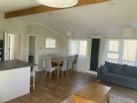 3 Bed luxury lodge with decking and Pitch Fees - Call James on 07495668377