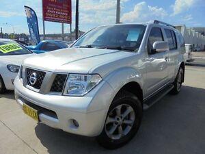 2009 Nissan Pathfinder R51 MY08 Titanium Silver 6 Speed Manual Wagon Holroyd Parramatta Area Preview