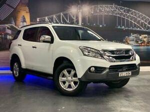 2014 Isuzu MU-X LS-T White Sports Automatic SUV Prospect Blacktown Area Preview