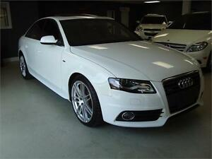 2012 Audi A4 2.0T Premium. S-Line. Leather. Sunroof.