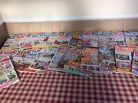 The World of Cross Stitching magazines