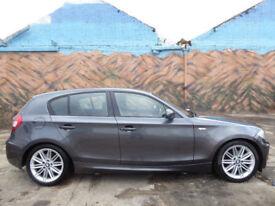 * Finance Me - No VAT * BMW 120 2.0 auto 2007MY i M Sport