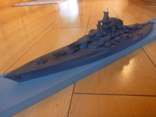 USS TENNESSEE SOUTH SALEM STUDIOS WWII Recognition Ship Model 1:500 SCALE