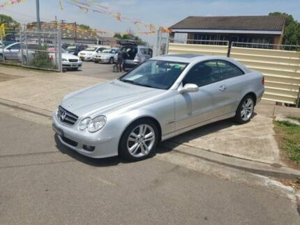 2006 Mercedes-Benz CLK280 C209 MY06 Avantgarde Silver 7 Speed Automatic Coupe Yagoona Bankstown Area Preview