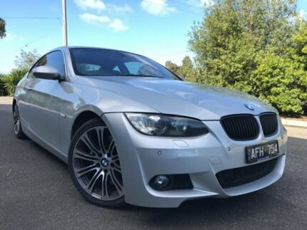 2006 BMW 335i E92 Silver 6 Speed Auto Steptronic Coupe Hoppers Crossing Wyndham Area Preview