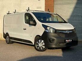 Vauxhall Vivaro 1.6 CDTi 2900 L2H1 Long W/base Panel Van Only 1 Previous Keeper