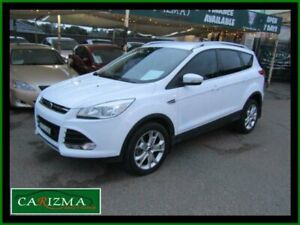 2014 Ford Kuga TF Trend (AWD) White 6 Speed Automatic Wagon Seven Hills Blacktown Area Preview