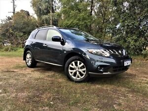 2013 Nissan Murano Z51 MY12 TI Blue Continuous Variable Wagon Beckenham Gosnells Area Preview