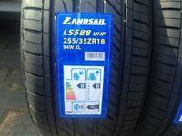 255 35 18 xl 94w brand new bmw & Mercedes Rear Tyre landsail