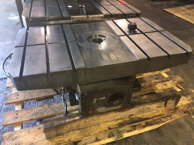 Brother Qt-323 Indexing Rotary Table 19-58 X 33 T-slotted Used Warranty