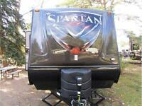 A Toy Haulers Baby! Spartan on Blow Out Pricing!!!!!!!!!