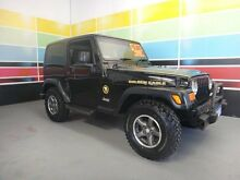 2006 Jeep Wrangler TJ Golden Eagle Attitude Black 6 Speed Manual Softtop Wangara Wanneroo Area Preview
