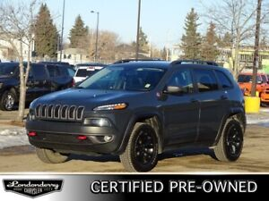 2016 Jeep Cherokee 4WD TRAILHAWK Accident Free,  Navigation (GPS